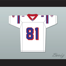Orlando Jones Clifford Franklin 81 Washington Sentinels Away Football Jersey The Replacements Includes League Patch