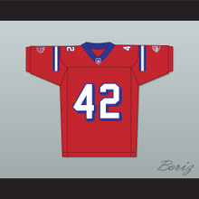 Michael Jace Ray Smith 42 Washington Sentinels Home Football Jersey The Replacements Includes League Patch 2