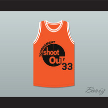 Orange Tournament Shoot Out Basketball Jersey Above The Rim