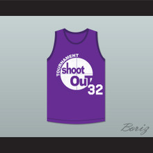 Purple Tournament Shoot Out Basketball Jersey Above The Rim