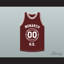 Duane Martin Kyle Lee Watson 00 Monarch High School Practice Basketball Jersey Above The Rim