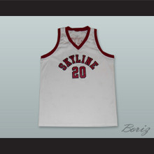Gary Payton 20 Skyline High School Basketball Jersey White