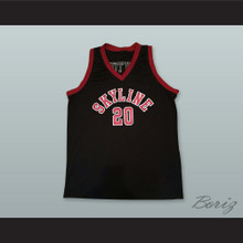 Gary Payton 20 Skyline High School Basketball Jersey Black