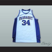 Kevin Garnett 34 Farragut Career Academy Basketball Jersey