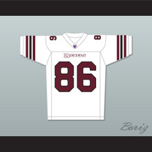 Hayes MacArthur Kyle Cooper 86 Boston Rebels Away Football Jersey Includes League Patch