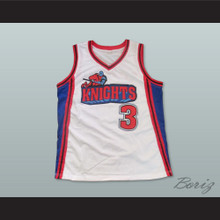 Lil' Bow Wow Calvin Cambridge 3 Los Angeles Knights White Basketball Jersey Like Mike