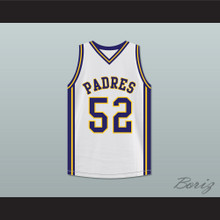 Tom Brady 52 Junipero Serra High School Padres Basketball Jersey