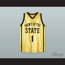 Wesley Jonathan Noah Cruise 1 Enemy Of The State Basketball Jersey Crossover