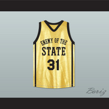 Jason Martin Double A 31 Enemy Of The State Basketball Jersey Crossover