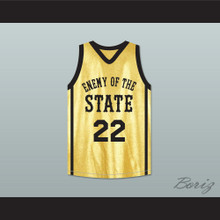 Marcello Thedford Big Man 22 Enemy Of The State Basketball Jersey Crossover