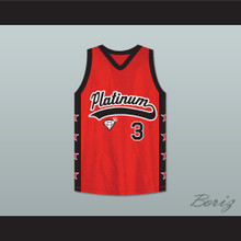 Philip Champion Jewelz 3 Platinum Jewelz Basketball Jersey Crossover