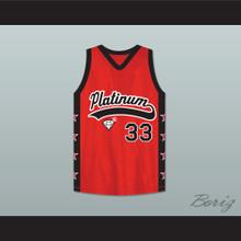 Player 33 Platinum Jewelz Basketball Jersey Crossover