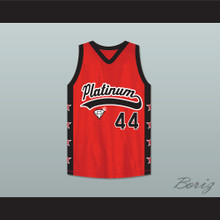 Player 44 Platinum Jewelz Basketball Jersey Crossover