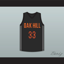 Kevin Durant 33 Oak Hill Academy Black Basketball Jersey