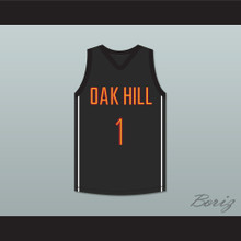 Harry Giles 1 Oak Hill Academy Black Basketball Jersey