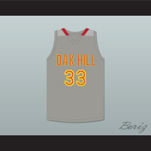 Kevin Durant 33 Oak Hill Academy Gray Basketball Jersey