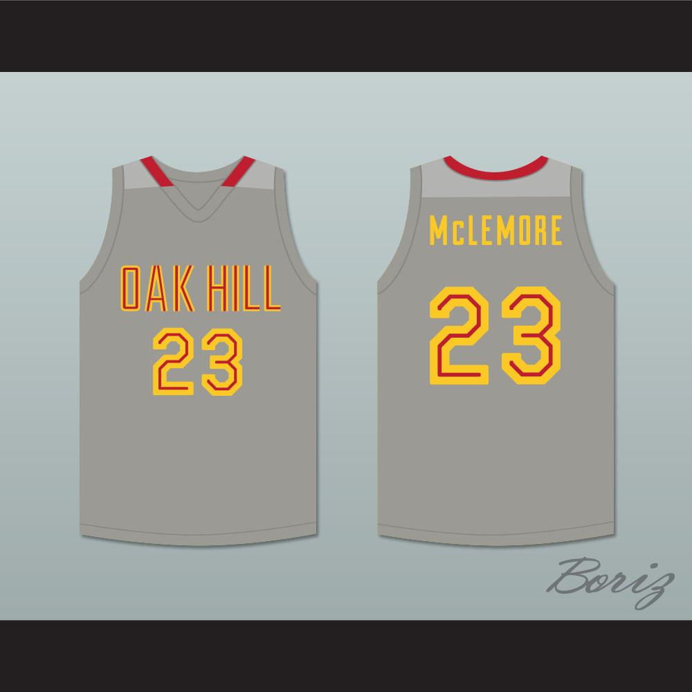 online store 47f1e 584f0 Ben McLemore 23 Oak Hill Academy Gray Basketball Jersey