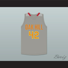 Josh Smith 42 Oak Hill Academy Gray Basketball Jersey