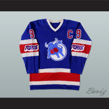 Wayne Carleton Toronto Toros WHA Hockey Jersey New