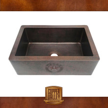 Copper Valley Farmhouse Sink 14 Gauge Texas Lone Star Kitchen Sink