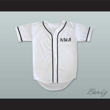 N.W.A. Eazy-E 95 White Baseball Jersey