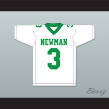 Odell Beckham Jr. 3 Isidore Newman High School White Football Jersey