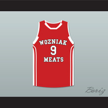 Vince Vaughn David Wozniak 9 Wozniak Meats Basketball Jersey Delivery Man