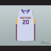 Ben Simmons 20 Montverde Academy Eagles Gray Basketball Jersey