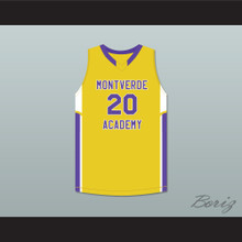 Ben Simmons 20 Montverde Academy Eagles Yellow Basketball Jersey