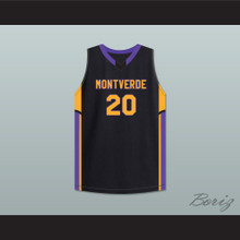 Ben Simmons 20 Montverde Academy Eagles Black Basketball Jersey