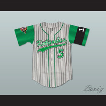 Raymond 'Ray Ray' Bennet 5 Kekambas Baseball Hardball Jersey Includes ARCHA Patch and G-Baby Memorial Sleeve