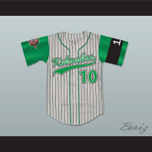 Jamal 10 Kekambas Baseball Jersey Includes ARCHA Patch and G-Baby Memorial Sleeve