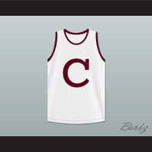 Clifford & Sons White Basketball Jersey