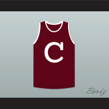 Clifford & Sons Maroon Basketball Jersey