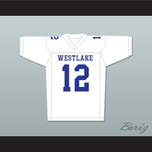 Cam Newton 12 Westlake High School Away Football Jersey