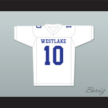 Cam Newton 10 Westlake High School Away Football Jersey