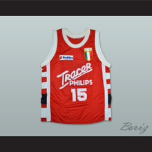 Bob McAdoo 15 Olimpia Milano Basketball Jersey