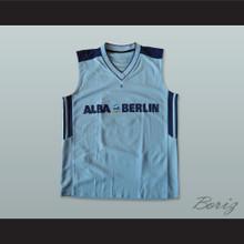Vlade Petrovic 12 Alba Berlin Basketball Jersey