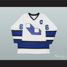 Mario Lemieux 66 Laval Voisins Hockey Jersey Stitch Sewn