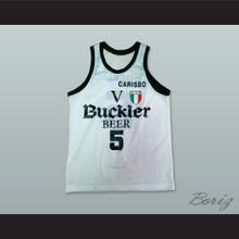Sasha Danilovic 5 Virtus Bologna Basketball Jersey