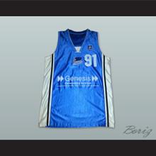 Dennis Rodman 91 Brighton Bears Basketball Jersey
