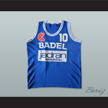 Drazen Petrovic 10 Cibona Zagreb Basketball Jersey