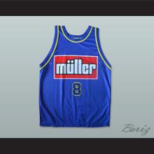 Casey Schmidt 8 Scaligera Basket Verona Basketball Jersey