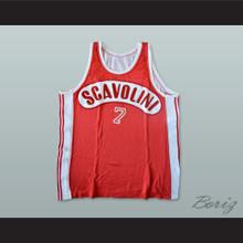Danilo Del Cadia 7 Scavolini Pesaro Basketball Jersey