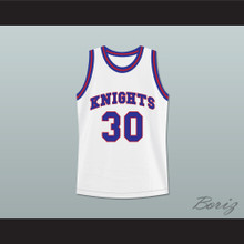 Stephen Curry 30 Charlotte Christian High School Knights White Basketball Jersey 2