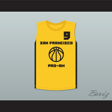 Stephen Curry 9 San Francisco Pro-Am Basketball Jersey