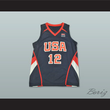 Amar'e Stoudemire 12 Team USA Basketball Jersey