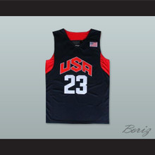Kyrie Irving 23 Team USA Basketball Jersey