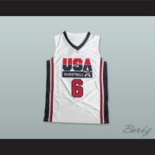 Lebron James 6 Team USA Basketball Jersey