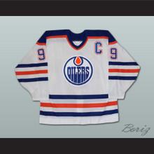 Wayne Gretzky 99 Edmonton Oilers WHA Defunct Team White Hockey Jersey